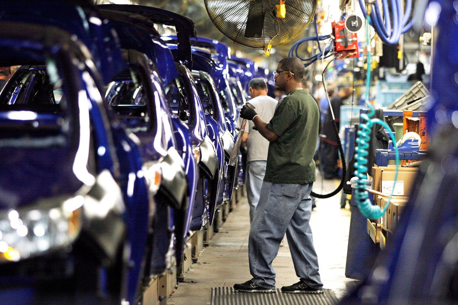 Usa / Auto-Industrie