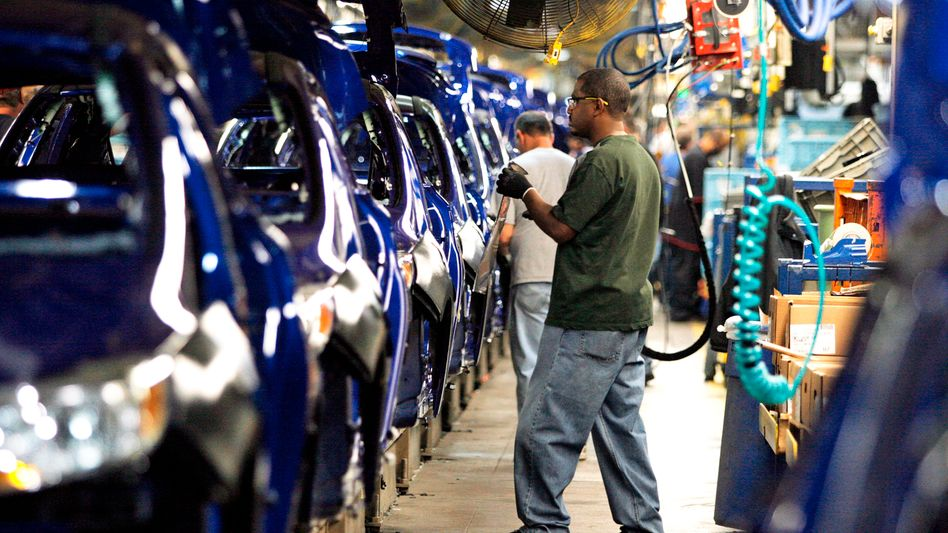 Eine Ford-Fabrik in Michigan, USA (Archivbild)