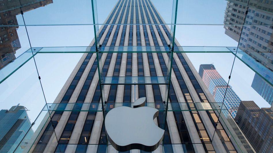 Apple-Filiale in New York: iPhone verkaufte sich besser als gedacht