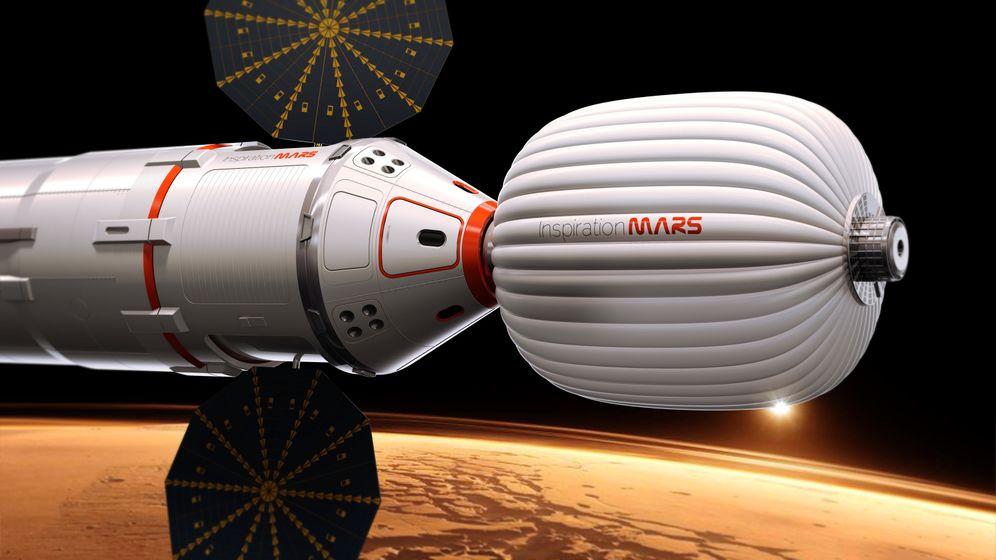 Kosmische Reisepläne: Einmal Mars und zurück