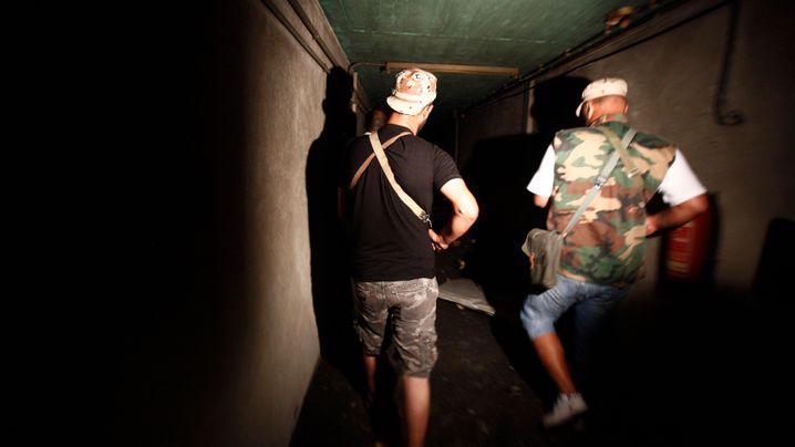 Die Tunnel von Bab al-Asisija: Gaddafis geheimer Unterschlupf