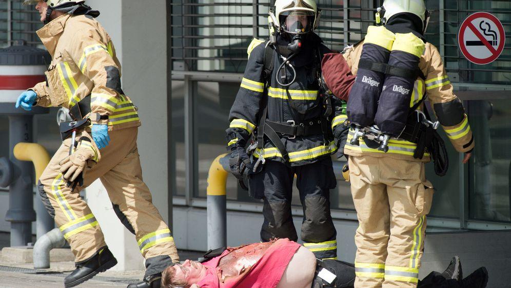 Flughafen Tegel: Berlin übt die Katastrophe