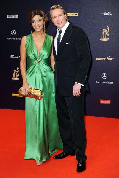 Franjo Pooth (mit Ehefrau Verona): Zu früh in die Pleite getrudelt