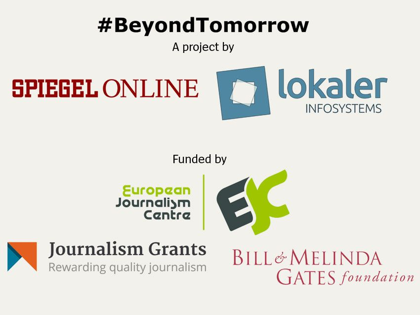 Beyond Tomorrow Logo Party English
