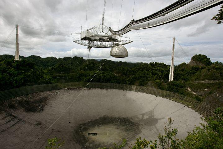 Arecibo-Teleskop in Puerto Rico (Archivbild)