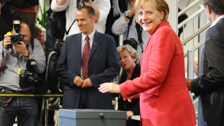 Photo Gallery: Germany Goes To the Polls