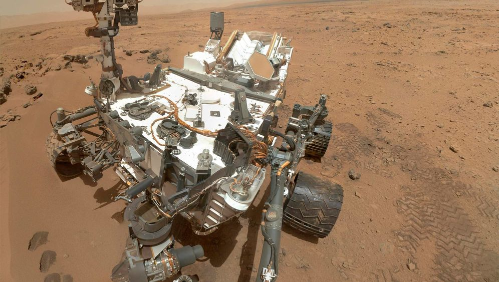 Messung auf Mars: Wo ist das Methan geblieben?