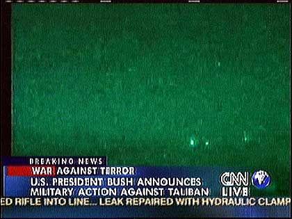 """Fernsehbilder vom Angriff auf Kabul: """"Krieg der Logos und Symbole"""""""