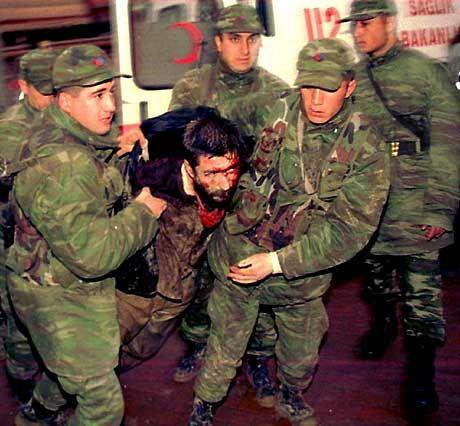Gefängnisrevolte in der Türkei vor drei Jahren: Hässliche Bilder, die die neue Regierung nicht wieder sehen will