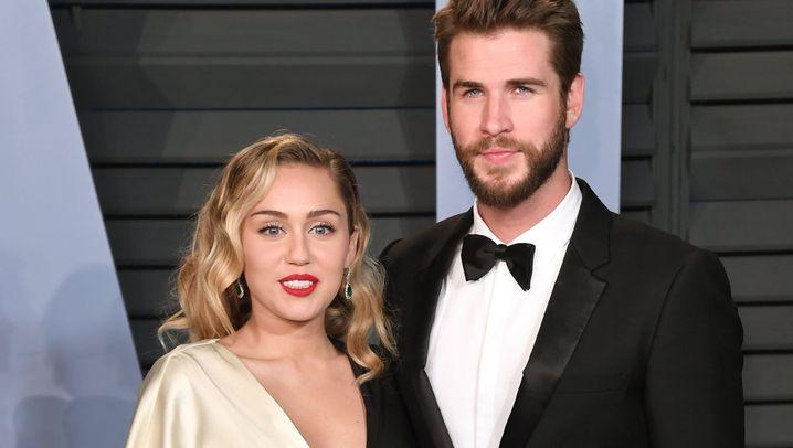 Miley Cyrus und Liam Hemsworth: Ein Herz und eine Seele