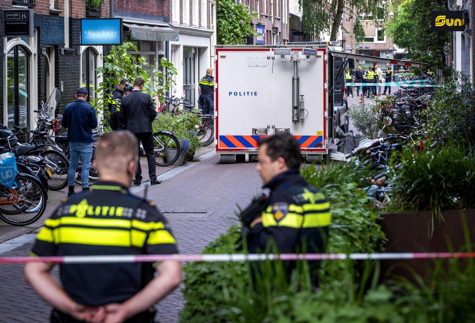 NETHERLANDS-CRIME-POLICE