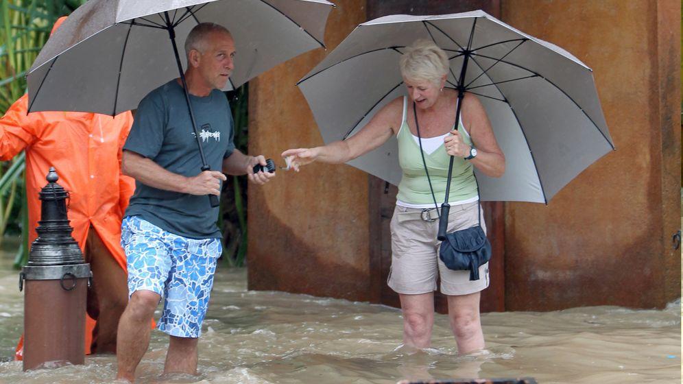 Thailand: Überschwemmungen auf Touristeninseln