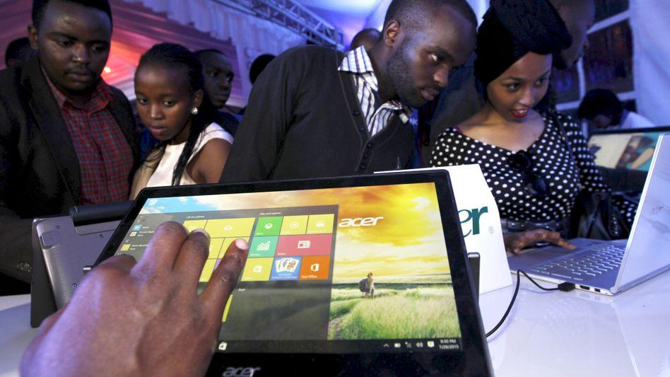 Microsoft-Veranstaltung in Kenia (Archivbild): Chancen ungleich verteilt