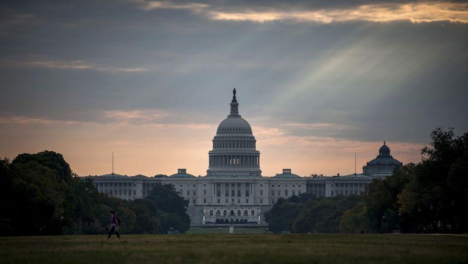 "Kapitol in Washington: ""Nur US-Bürger dürfen spenden"""