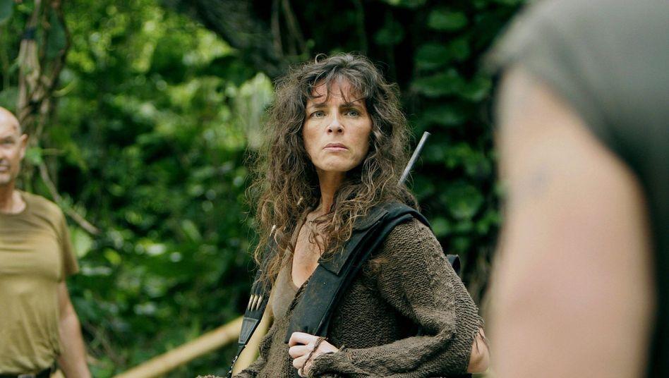 Mira Furlan (mit Teddy Quinn) in der Serie »Lost«