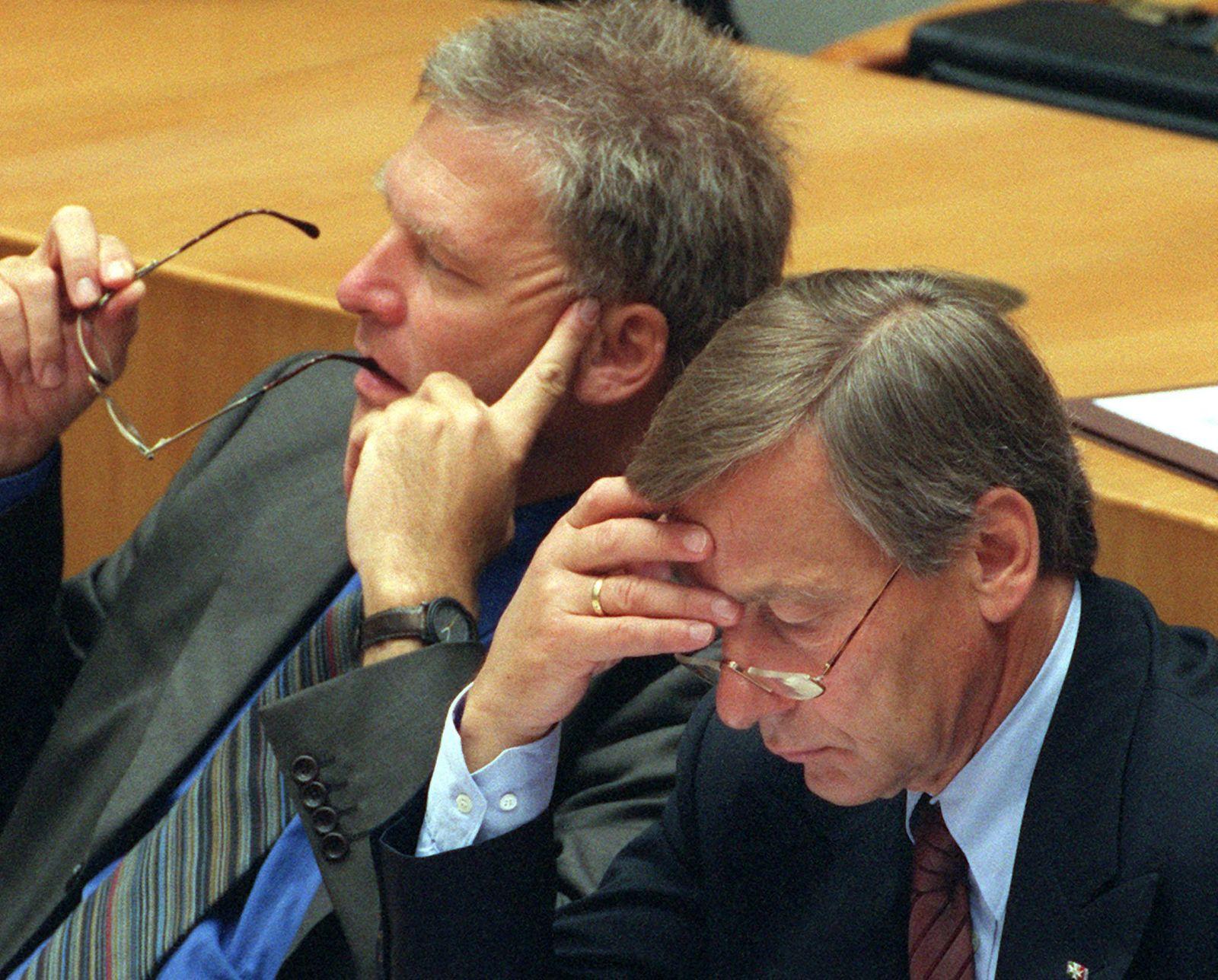 NRW-Haushaltsdebatte Clement Vesper