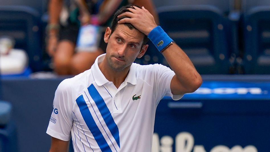 Nach der Disqualifikation von Novak Djokovic wird es bei den US Open einen neuen Grand-Slam-Sieger geben