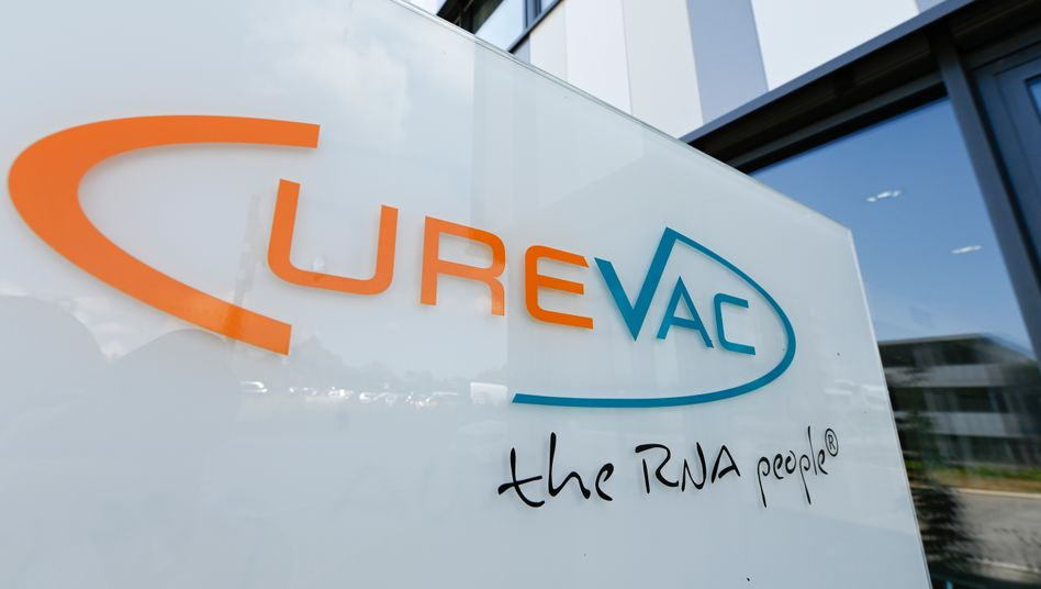 Zentrale der Firma Curevac in Tübingen