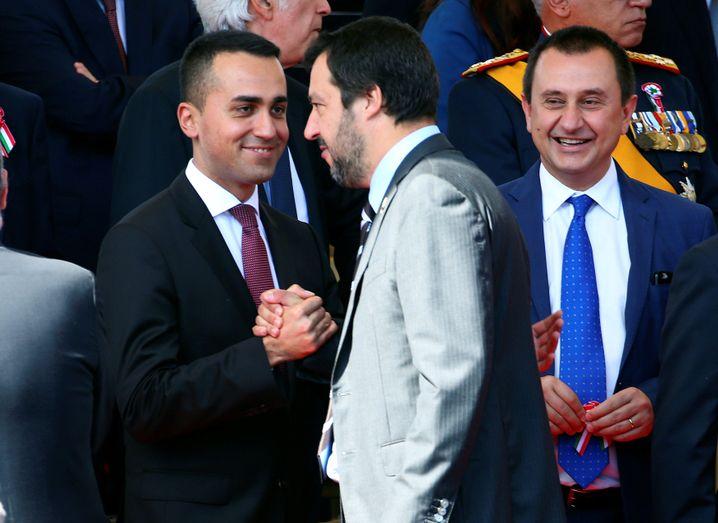 Luigi Di Maio (l.) und Matteo Salvini