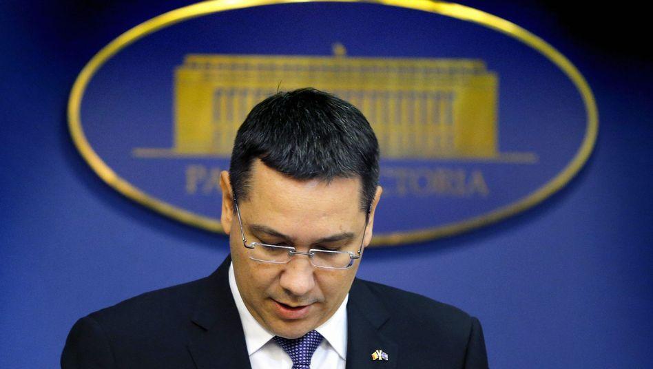 Ex-Premier Ponta: Rücktritt nach Großdemonstration