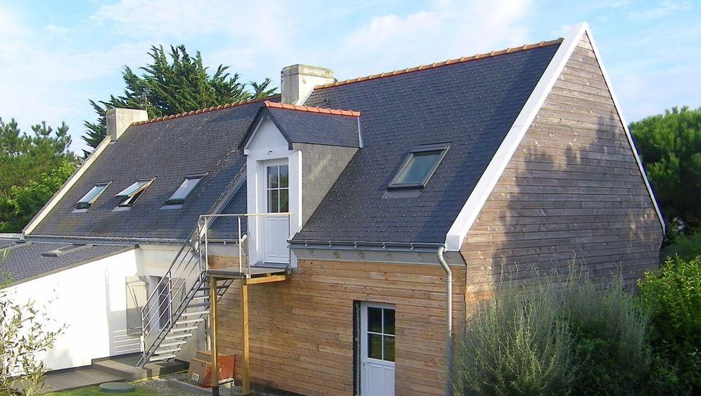 Ferienhaus in der Bretagne: Nicht von Pappe - oder doch?