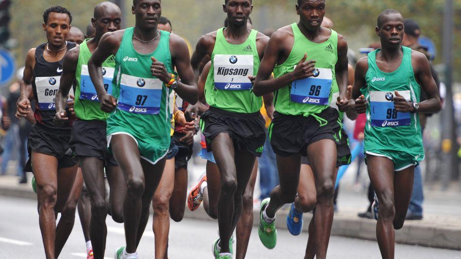 Marathon in Kenia: Wer im Ziel überhaupt nicht schwitzt, ist verdächtig
