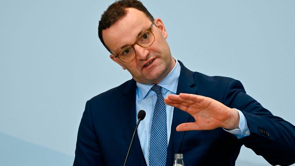 """Bundesgesundheitsminister Spahn: """"Dieses Virus hat sehr lange Bremsspuren"""""""