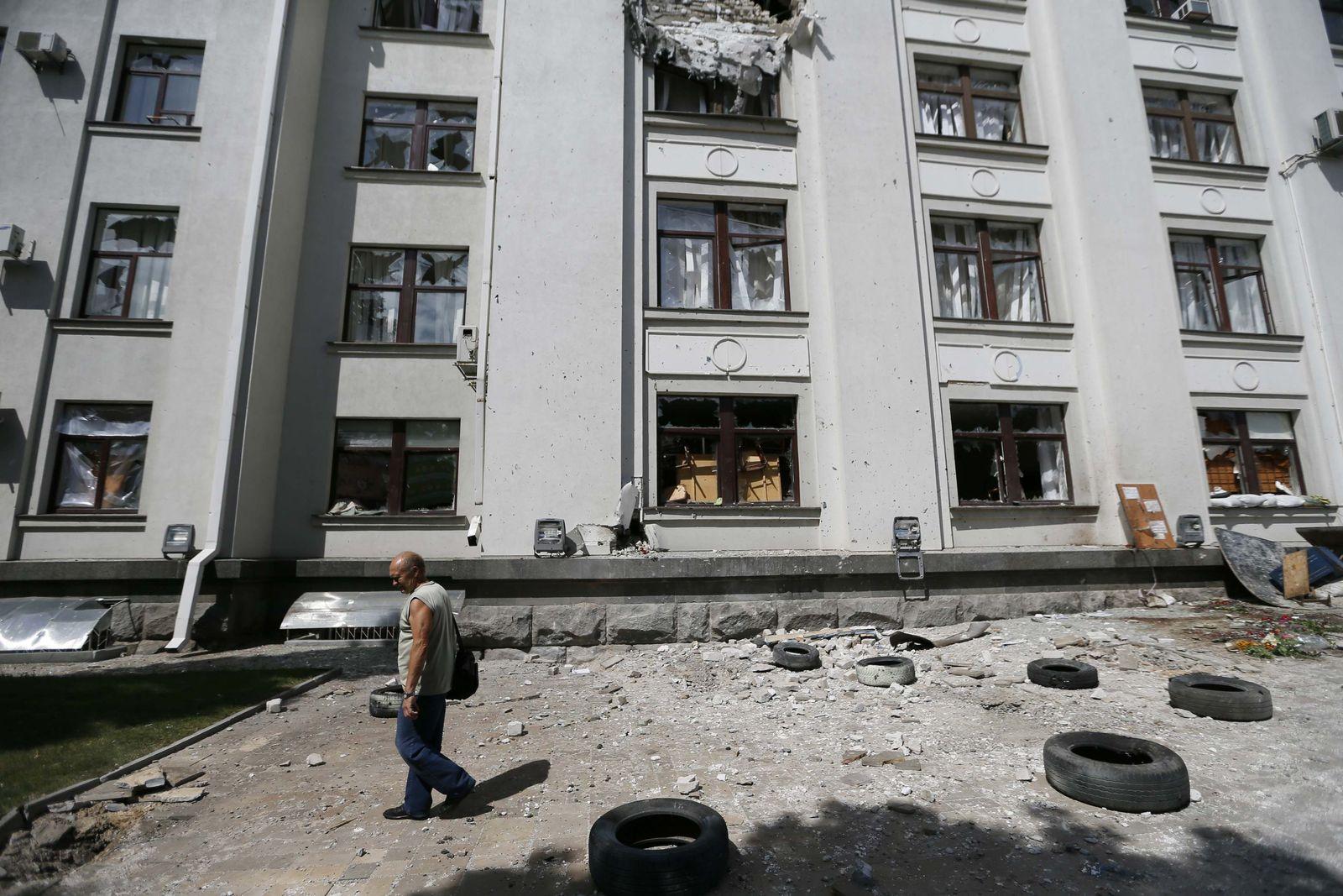 Ukraine/ Unruhen