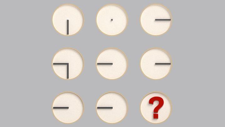 Uhrenrätsel: So funktioniert die Lösung