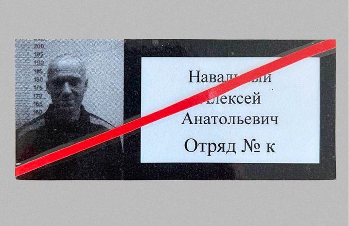 Nawalnys selbst geschossenes Foto mit kurzen Haaren