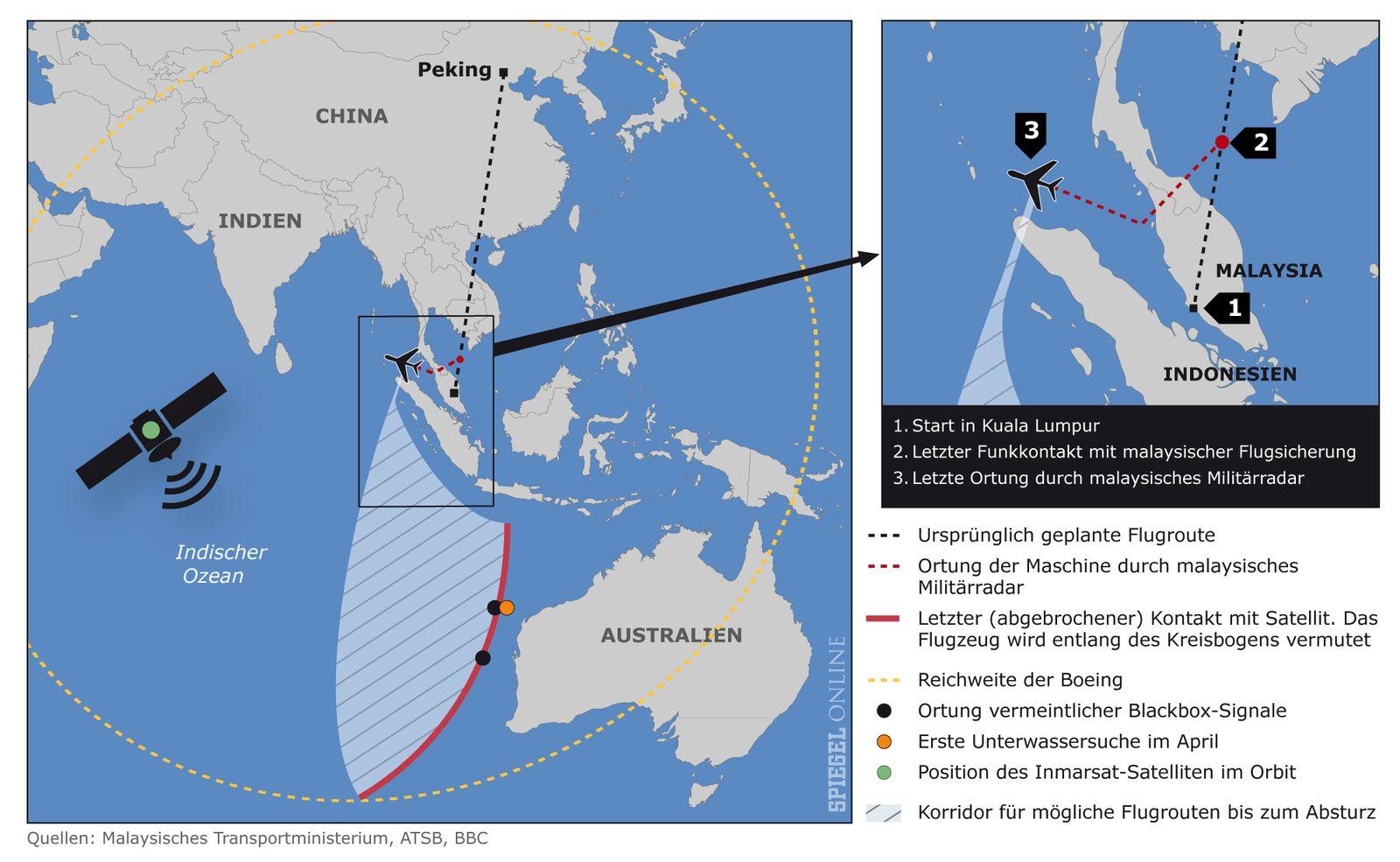 Karte Flug MH370 v2