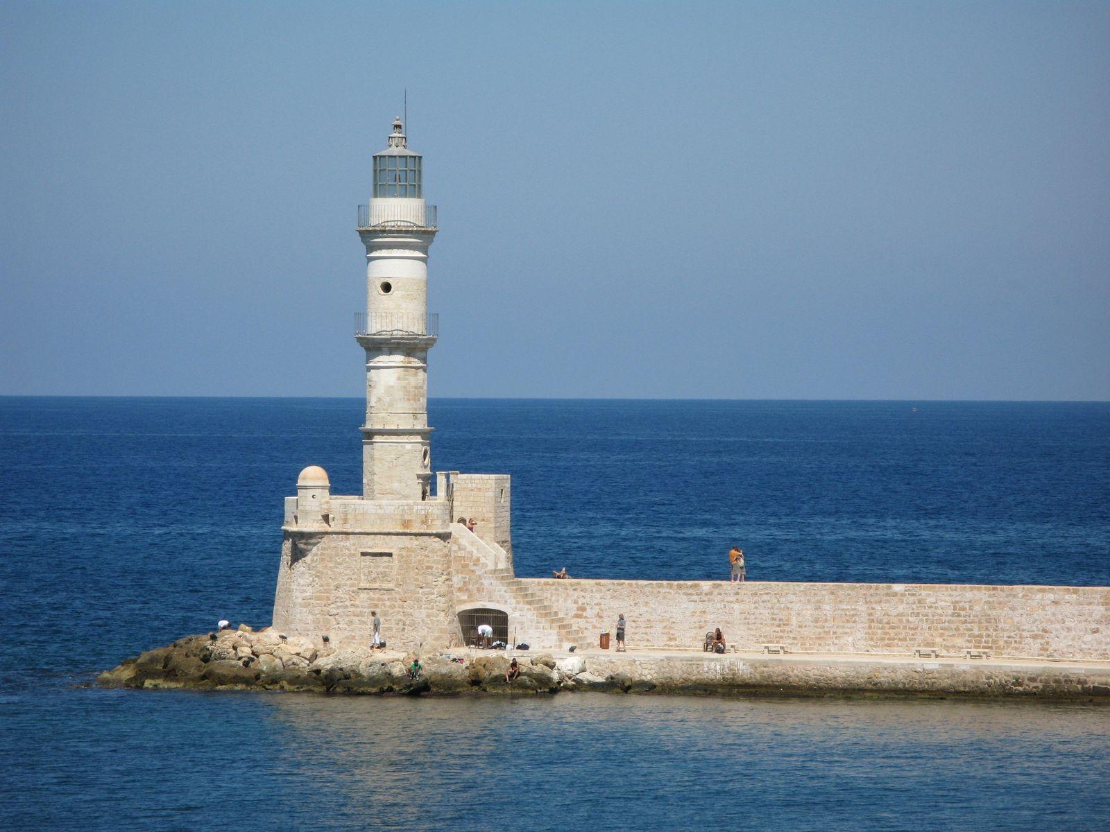Leuchtturm/ Kreta