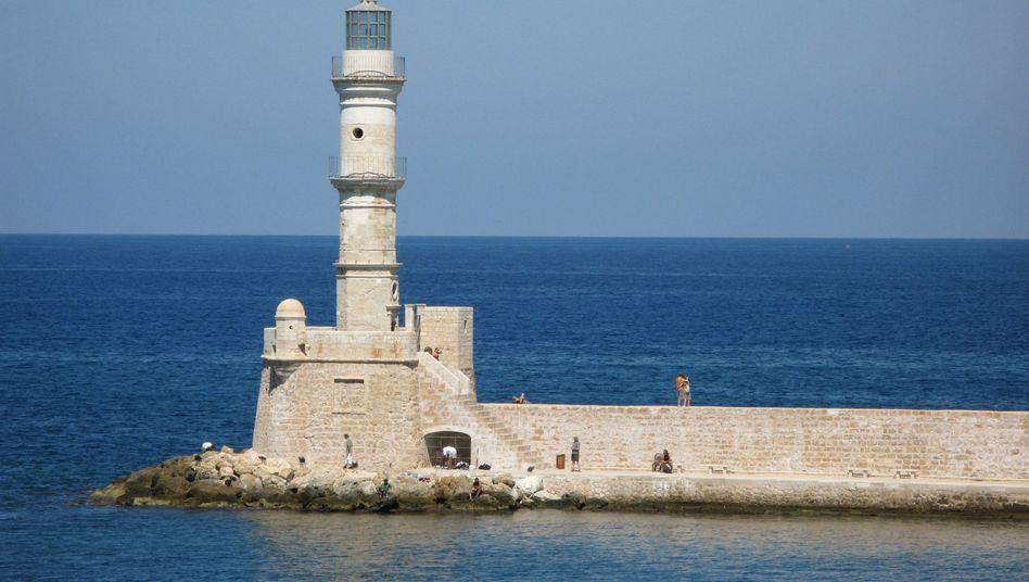 Leuchtturm auf Kreta: Griechenland hat kein Geld für Sanierung