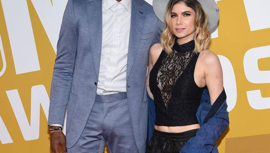 Rasual Butler und Leah LaBelle (im Juni 2017)
