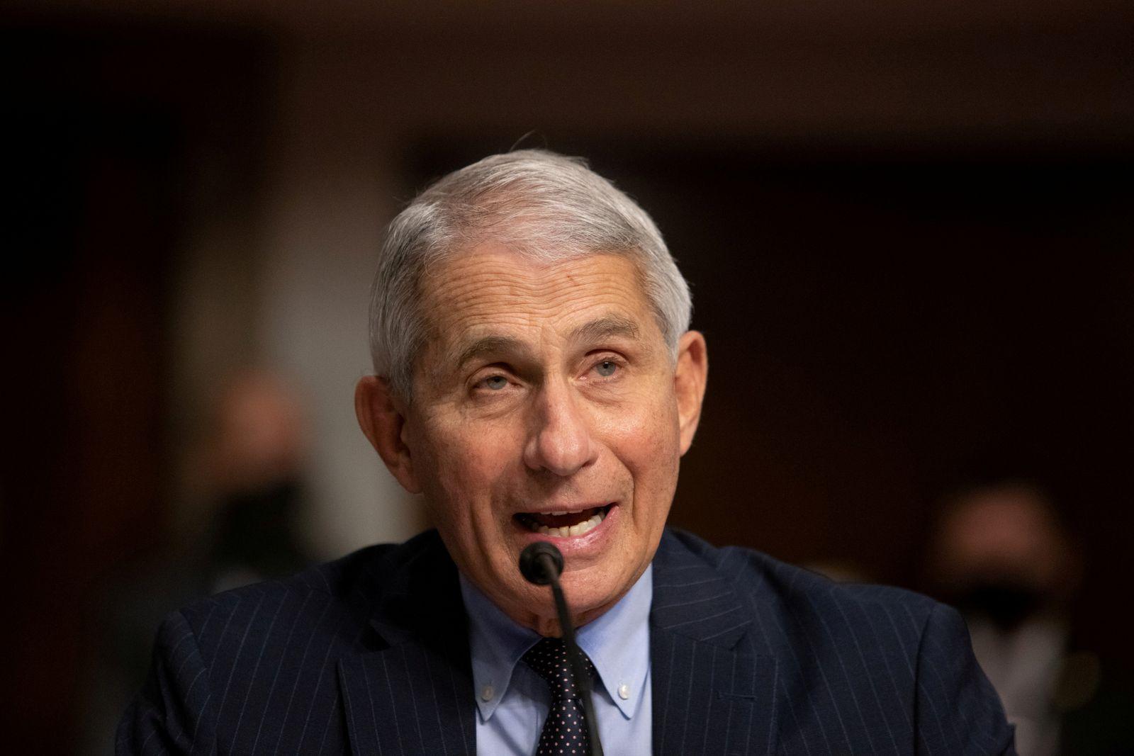 FILE PHOTO: Fauci, Redfield testify at U.S. Senate hearing on coronavirus response in Washington