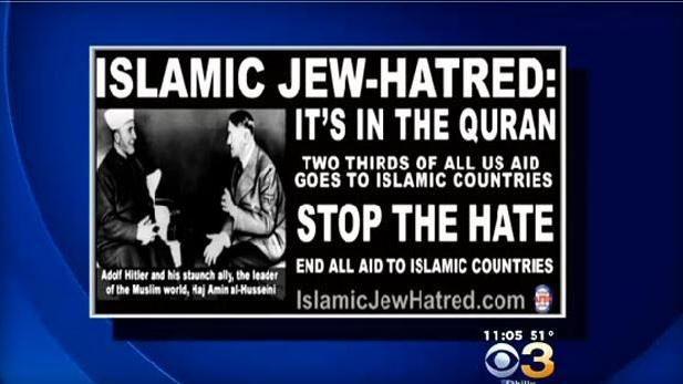 EINMALIGE VERWENDUNG Anti-Islam-Kampagne