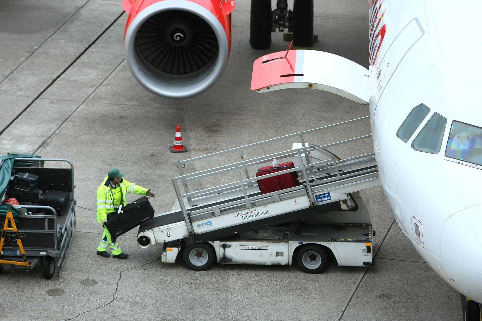 Air Berlin / Gepäck / Terror / Flugzeug