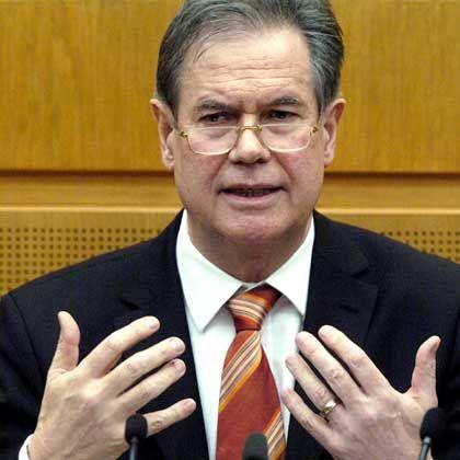 Seit zehn Jahren im Amt: Finanzminister Stratthaus