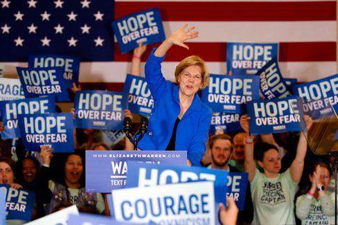 Elizabeth Warren in Des Moines