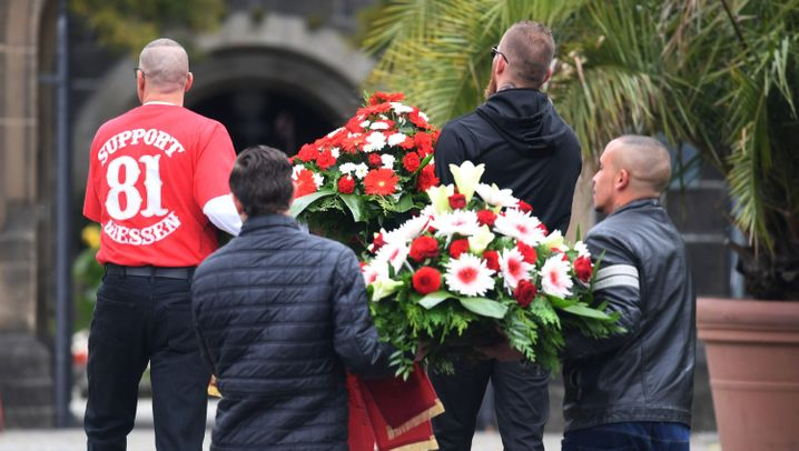 Hells Angels: Beerdigung von Aygün Mucuk