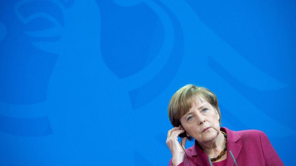 Bundeskanzlerin Angela Merkel: Position 9 auf der Sonderliste