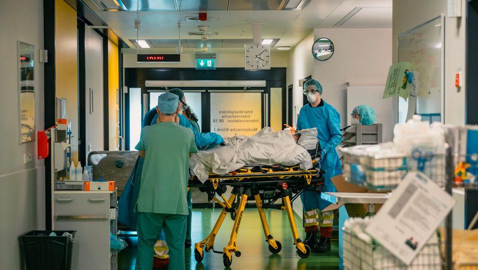 An der Uniklinik Aachen wurden Covid-19-Patienten aus dem Landkreis Heinsberg behandelt