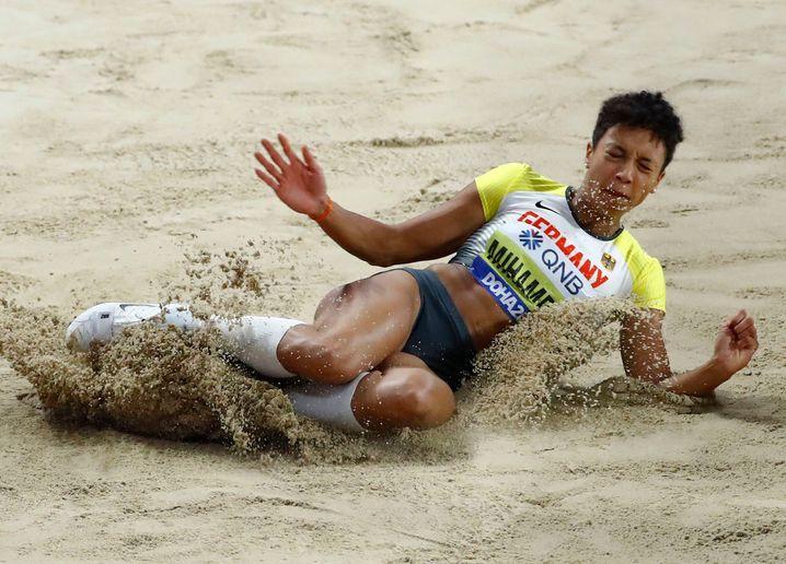 Malaika Mihambo ist aktuell die schnellste Weitspringerin