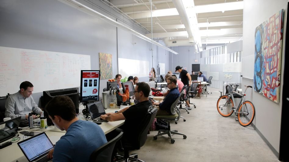 Softwarespezialisten in Santa Monica, Kalifornien