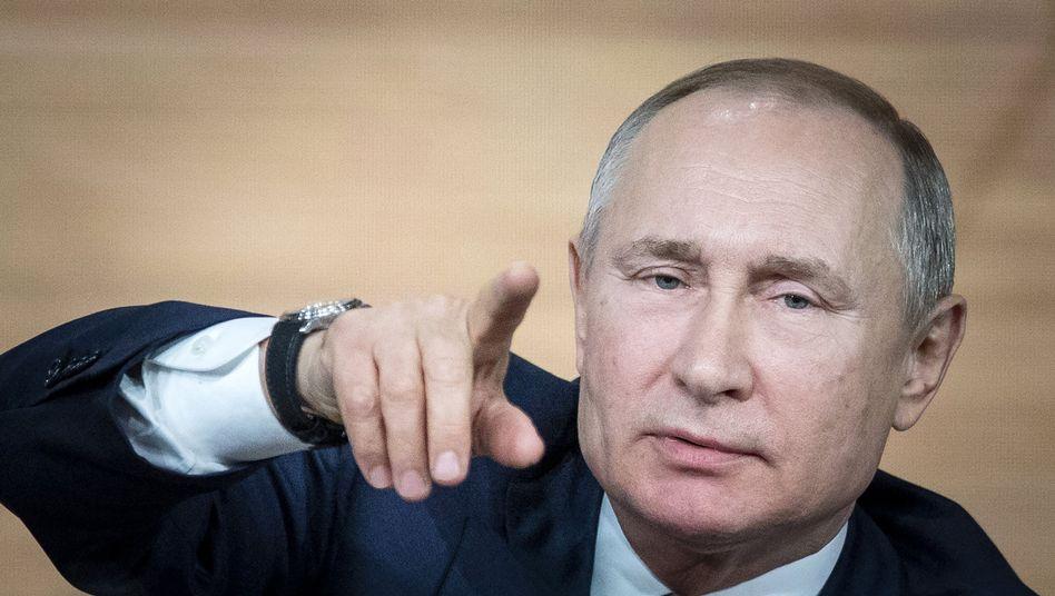 Wladimir Putin: Die nächste Frage, bitte