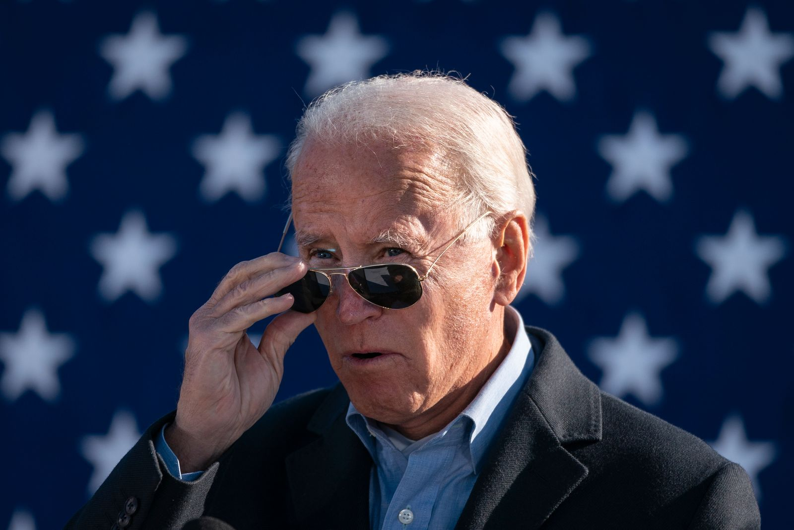 Joe Biden Campaigns In Western Pennsylvania One Day Before Election