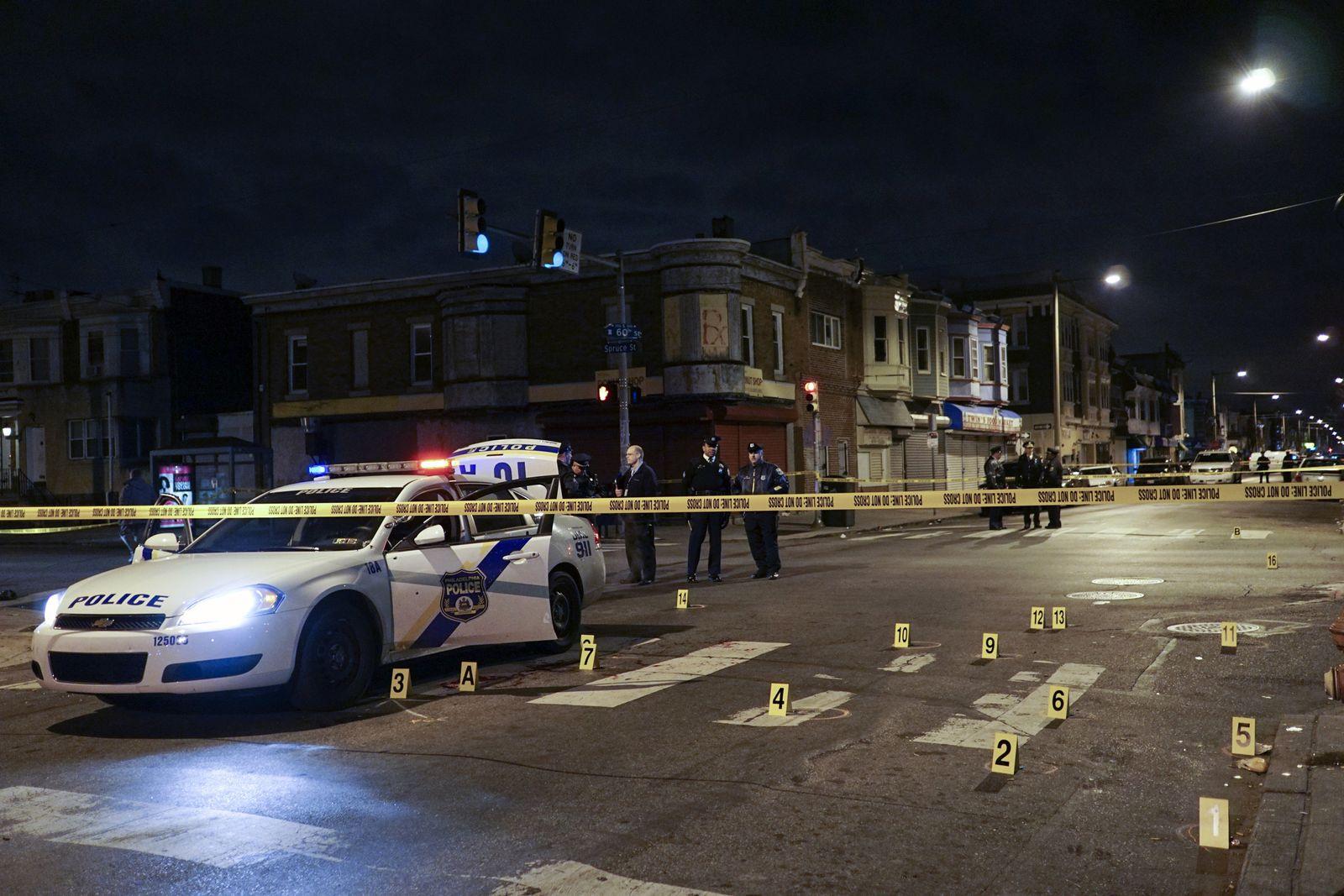 Philadelphia Officer Ambushed