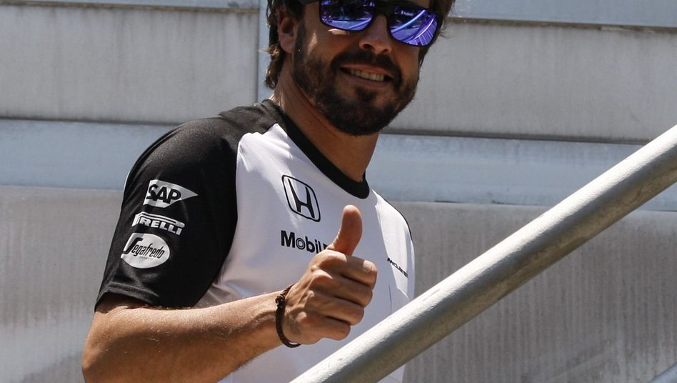 """Formel-1-Pilot Alonso: """"Viel Glück für das Wochenende"""""""