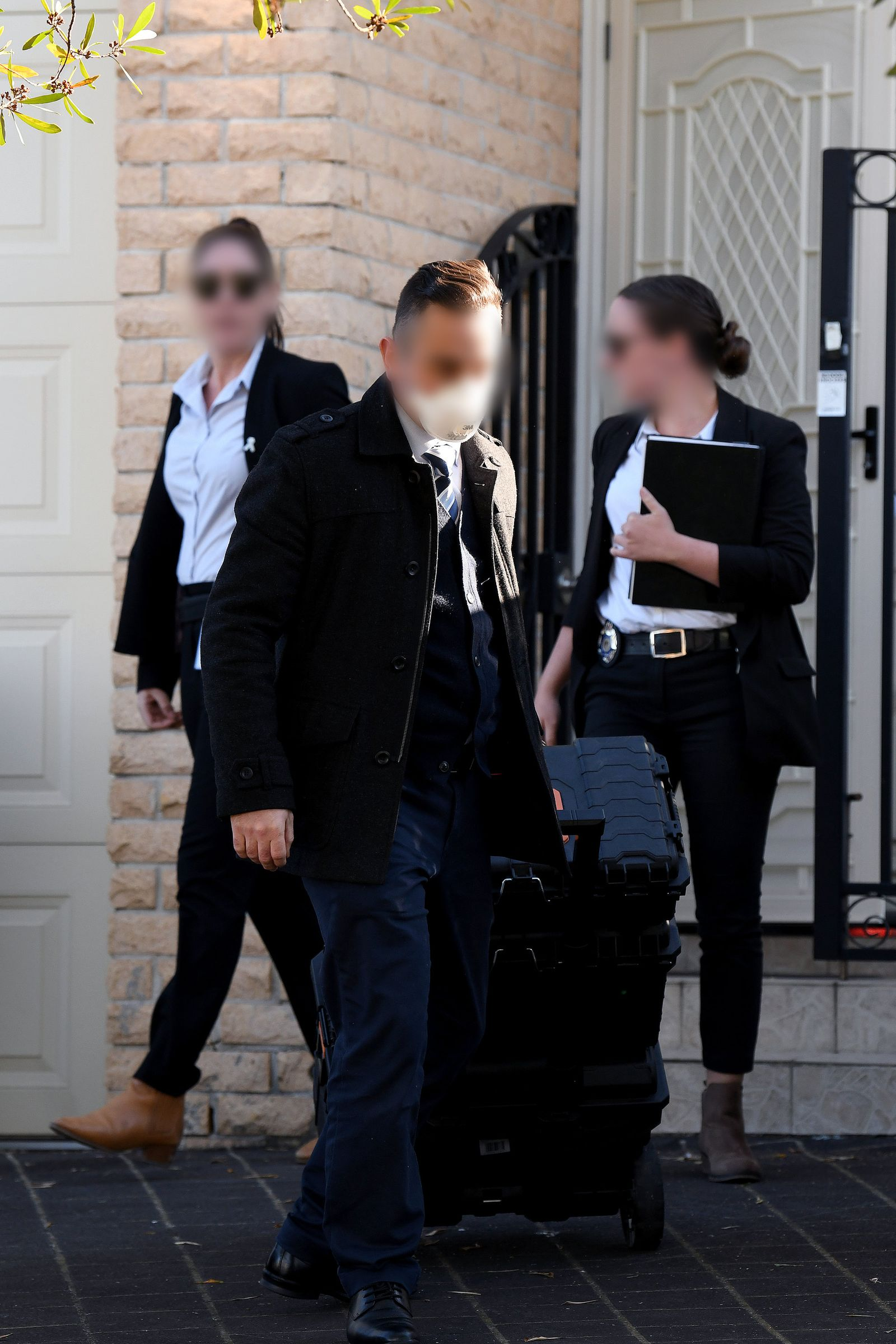 NSW LABOR MP SHAOQUETT MOSELMANE RAIDS