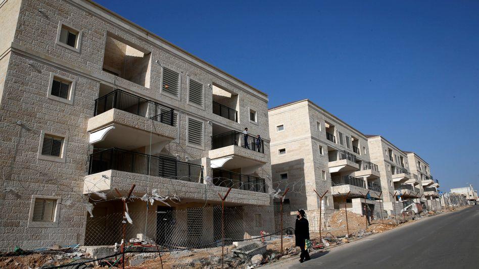 Israelische Siedlung in Beitar Ilit, Westjordanland